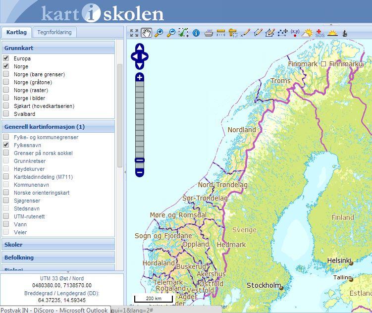 kart i skolen Kart i skolen | DiScoroNorge kart i skolen