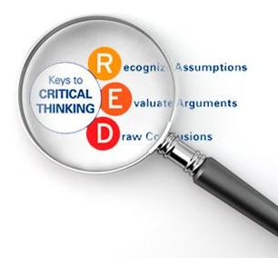 RED model for Critical Thinking by Pearson