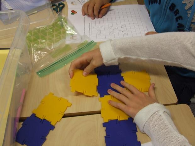 utbrettet mønster kube