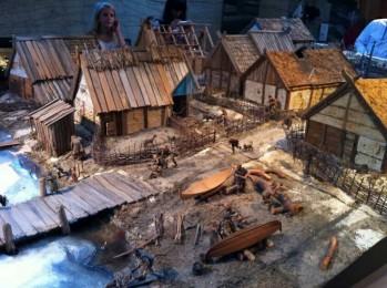miniatur Viling bygda