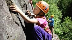 klatring friluft
