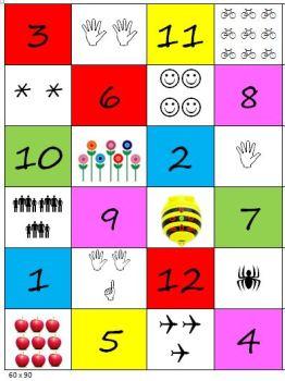 matte med tall