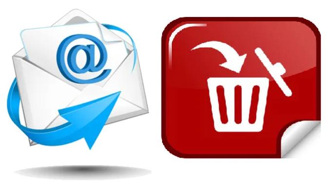 Epost i papirkurven og spamboks